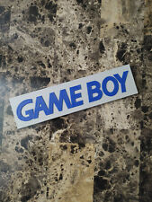 GameBoy video game logo sign 8.25in (3D printed, man cave, game room, videogame)