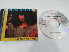 DONNA SUMMER NA NA HEY HEY CD MCPS UK EDITION 1993