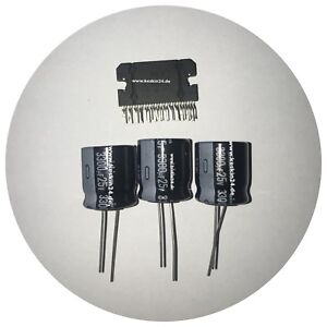 Reparaturset BMW E60 E61 NAVI CCC Kondensator 3300uF & Verstärke IC Power Board
