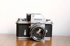 NIKON F  Photomic FTN viewfinder film camera  w/ Nikkor-S 35mm lens  * User/read