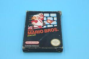 Nintendo NES - Super Mario Bros. - nur die OVP (ohne Spiel)