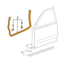 For Toyota Genuine Door Seal Front Left 678620C020