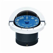 """Ritchie SuperSports Flush Mount Compass SS-2000W 4-1/2"""" Dial White MD"""