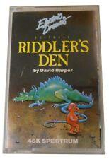 Spiel für Sinclair ZX Spectrum Riddler's Den original verschweisst von 1985
