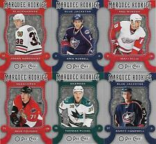 """2007-08 O-Pee-Chee """"Marquee Rookies"""" RCs - Lot of 6"""