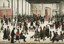 LS Lowry enmarcado impresión: Punch y Judy (dibujo pintura arte artista inglés)