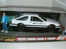 1/24 TOYOTA AE86 TRUENO INT D WITH TAKUMI FIGURE, JDM DRIFT.
