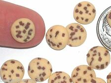 5pc miniature little dollhouse candy Easter Chocolate chip cookies jar food