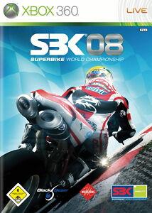 SBK-08 Superbike World Championship (Microsoft Xbox 360, 2008, DVD-Box)