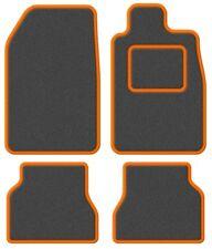 Mazda 2 07- Super Velour Dark Grey/Orange Trim Car mat set