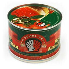 Best Quality Russian Style Kosher Salmon Red Pearl Caviar 454 g / 1 lb can