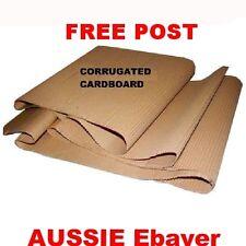 600mm x 10m Single Face Corrugated Cardboard Roll