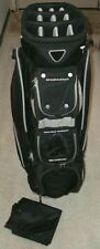 MINT!  Great Divider Eclipse 14-Way Divider Golf Cart Bag w/ Rain Cover - CLEAN!