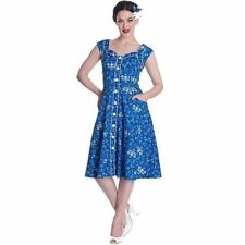 Knee Length Cotton/Spandex with Cap Sleeve Dresses for Women