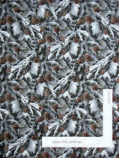 Wild Wings Contemplation Pine Cones Cotton Fabric Springs CP49482 By The Yard