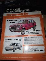 REVUE TECHNIQUE AUTOMOBILE N°454 CITROEN LNA
