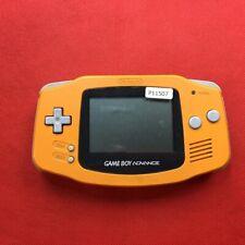 P11507 Nintendo Gameboy Advance console Orange GBA Japan Express