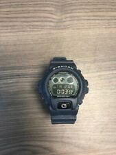 Casio G-Shock Military Mens Watch DW6900MS-1 Blue 3230 Very Good