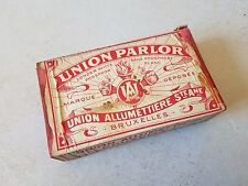 Boîte allumette vintage UNION SAFETIES matchbox Streichholzschachtel fiammiferi
