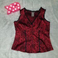 Fashion bug red corset medium