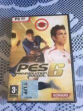 Pes 6 Pro Evolution Soccer Konami LFP - Juego ordenador PC DVD-Rom