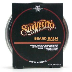 Suavecito Beard Balm - Whiskey Bar