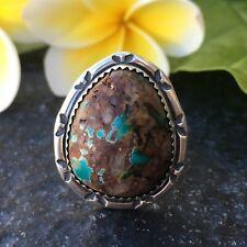 Royston Turquoise Sterling Silver Ring | Women's Rings | Boho | Women's Rings |