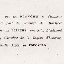 Hippolyte De la Planche Alger 1860 Alice De Foucauld