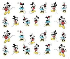 Nail Art Decals Transfers Stickers Mickey & Minnie Mouse (A-377)