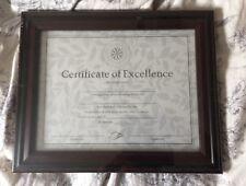 Diploma Certificate Frame DAX 8-1/2 x 11  Rosewood Black DAXN15786NT NIB NW