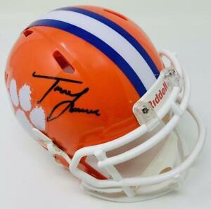 TREVOR LAWRENCE Autographed Clemson Tigers Mini Speed Helmet FANATICS