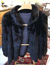 Très belle veste en mouton doré de belle qualité taille 44/46