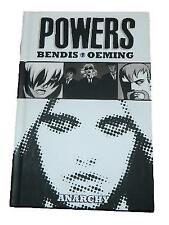 Powers Volume #5 Anarchy Bendis Oeming Graphic Novel Hardcover