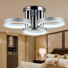 18W LED moderne Chrome Ceiling Light Pendant Lamp Fixture Lustre