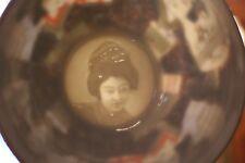 Service à thé porcelaine Japon Satsuma Kutani Geisha lithophanie théière tasse..