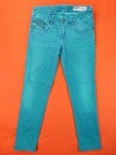 DIESEL Jean  Femme Taille 25 US - Modèle GRUPEE vert - Super slim skinny