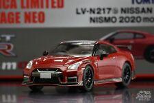 [TOMICA LIMITED VINTAGE NEO LV-N217b 1/64] NISSAN GT-R NISMO 2020 MODEL (Red)