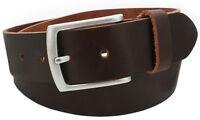 Gürtel Ledergürtel Accessoire Echtes Leder Vascavi Damen Vollleder braun belt