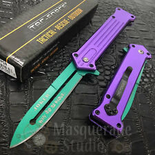 """Tac Force Collectors Joker """"Why So Serious"""" Outdoor Spring Assisted Pocket Knife"""