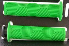 REDLINE BMX GRIPS  HEX PRO 130MM WITH PLUG GRIP GREEN SCOOTER GRIPS BMX GRIPS RL