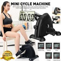 Exercise Mini Gym Bike Pedal Bike Fitness Cycle Leg /Arm w/ LCD Display Portable