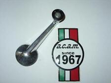 Maniglia alzavetro Fiat500f-850-850s-124-125-128 alluminio cromata