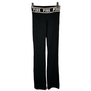 PINK  Yoga Victoria's Secret Yoga Pants Rhinestone Bling Women's Size Small Long