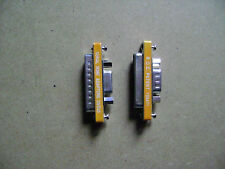 2 Adaptateurs RS232C 25 broches 9 broches male et femelle /P17