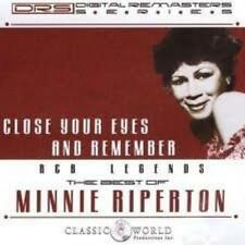Minnie Riperton : Close Your Eyes and Remember CD (2004)