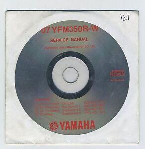 (CD121) CD YAMAHA YFM350R-W