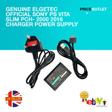 Genuine Elgetec Official Sony PS Vita Slim PCH- 2000 2016 Charger Power Supply