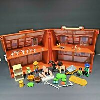2005 Playmobil My Take Along Farm House 5765 with 45 Parts/Pieces/Accessories