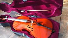 More details for cello full size with case used only 6 times