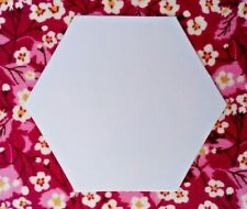 500 x  1 1/2 INCH SIDE HEXAGON PAPER TEMPLATES~EPP~PATCHWORK~HEXIES~90GSM
